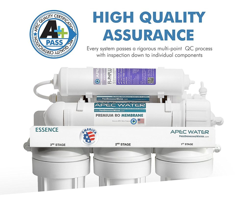 APEC ROES PH75 water system