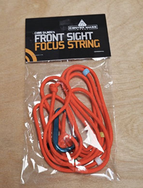 front sight focus string new