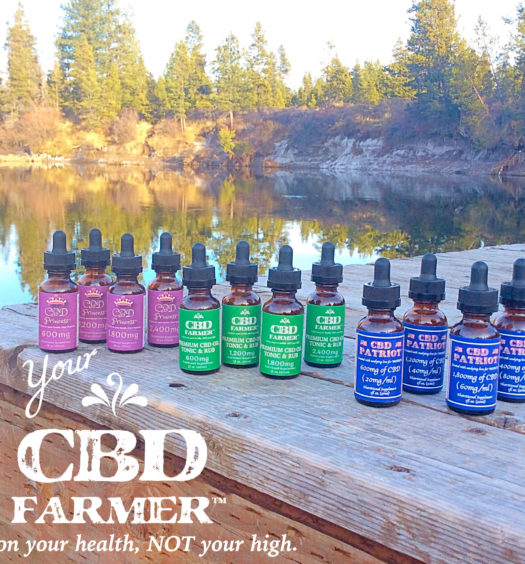 cbd farmer oil products