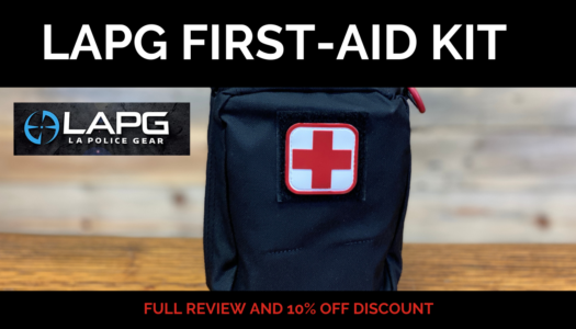 LAPG NAR Bleeding Control Enhanced First Aid Kit